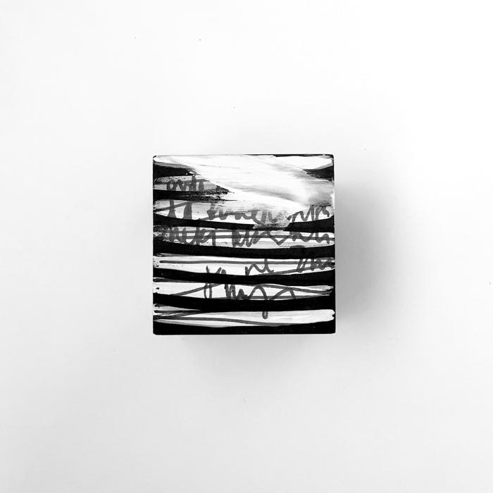 Jedna kockica, 10 × 10 cm