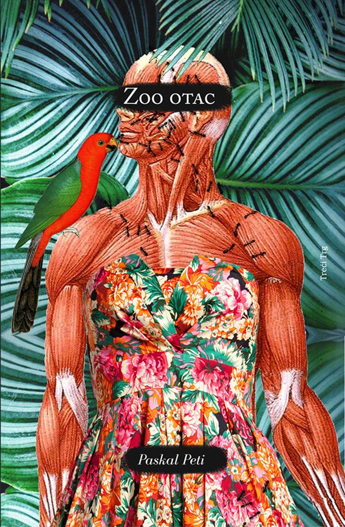 Dizajn za koricu knjige Zoo otac, Pascale Petit i prva korica koju je Dragana radila za nju