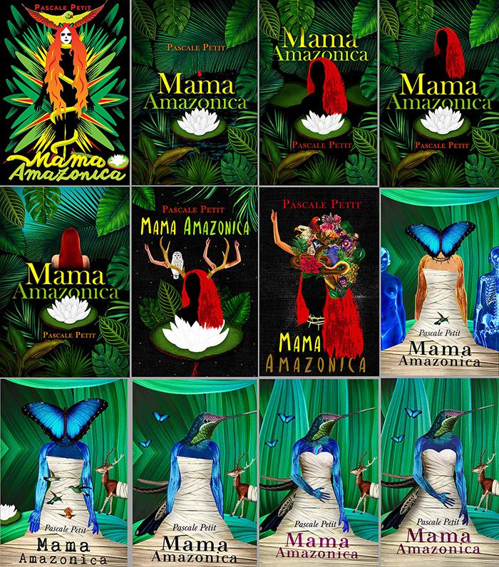 Proces rada na korici knjige Mama Amazonica