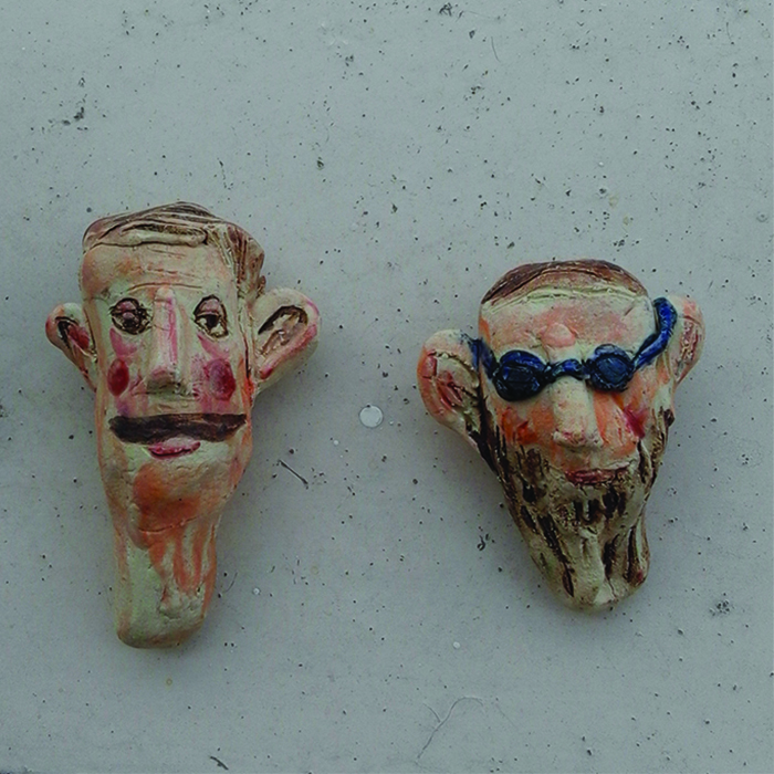 Glave od gline