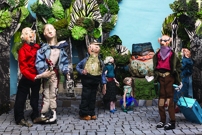 Finalni izgled kostimiranih figura
