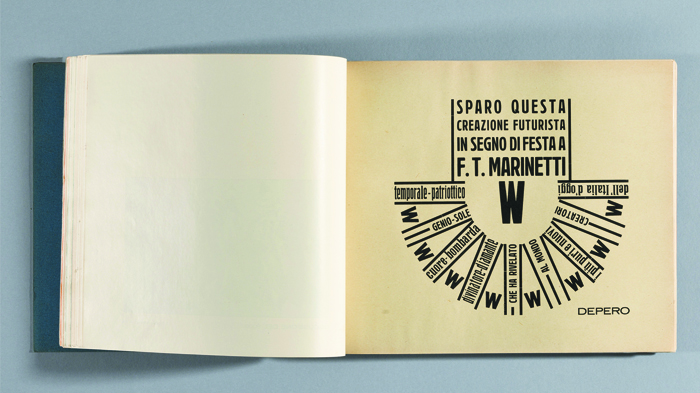 Fortunato Depero, The Bolted Book (knjiga umetnika), 1927.