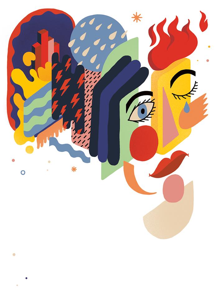 Ilustracija za časopis Elementi, 2016