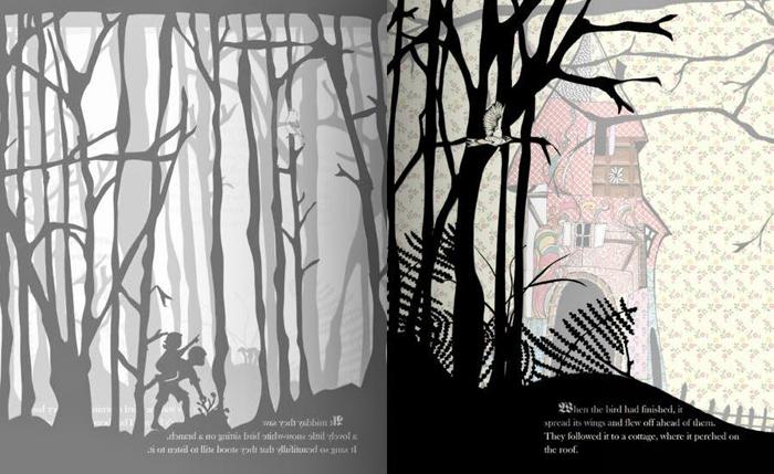 Ilustracija iz knjige Ivica i Marica