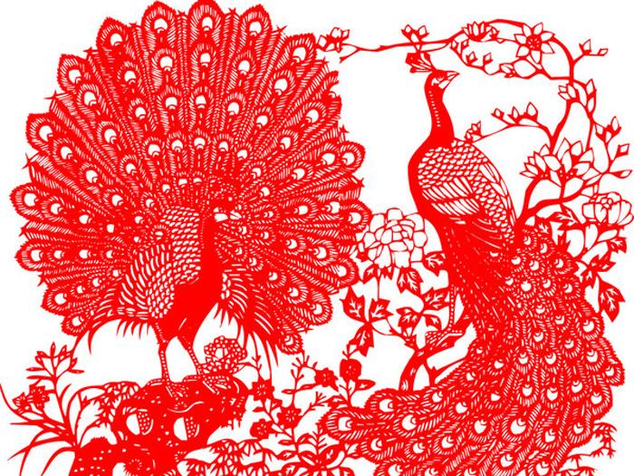 Tradicionalno kinesko isjecanje papira