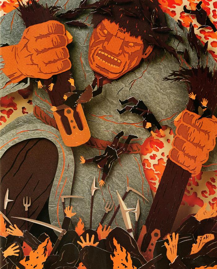 Ilustracija iz knjige Golem