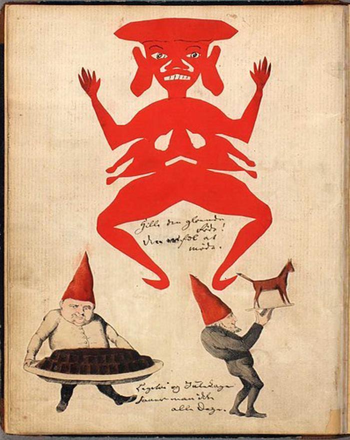 Ilustracija iz knjige Slikovnica za Kristi, Hans Kristijan Andersen