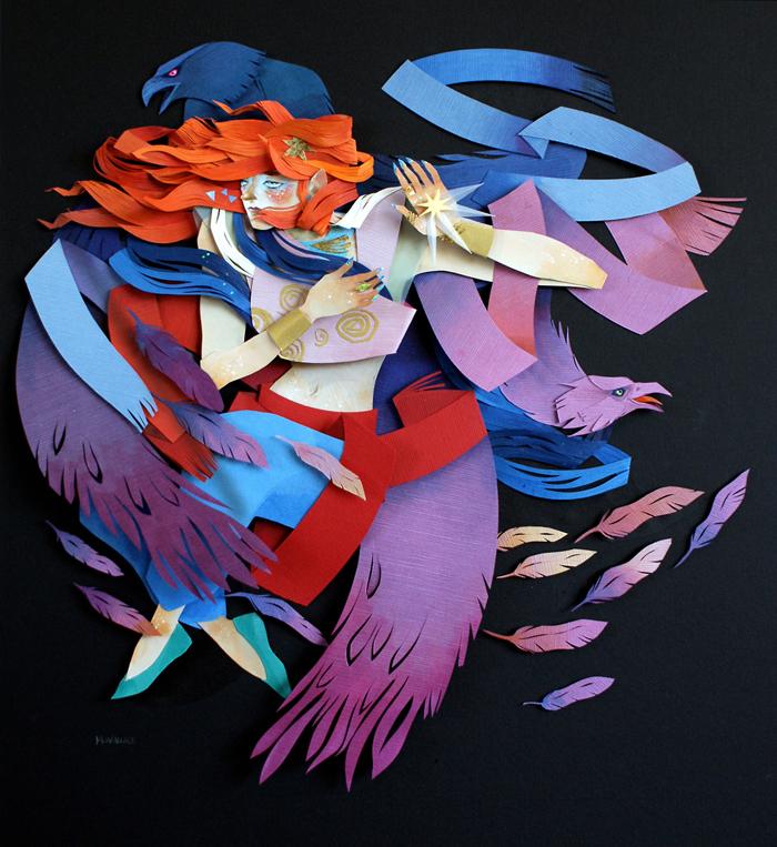 Ilustracija Freja, Morgana Valas (Morgana Wallace)