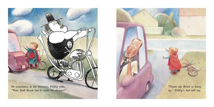 Ilustracija iz knjige Zaboravili smo Broka